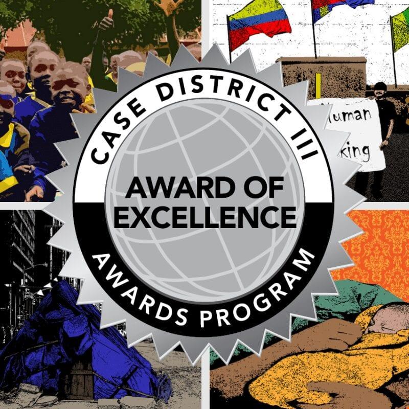 CASE Award of Excellence Seal